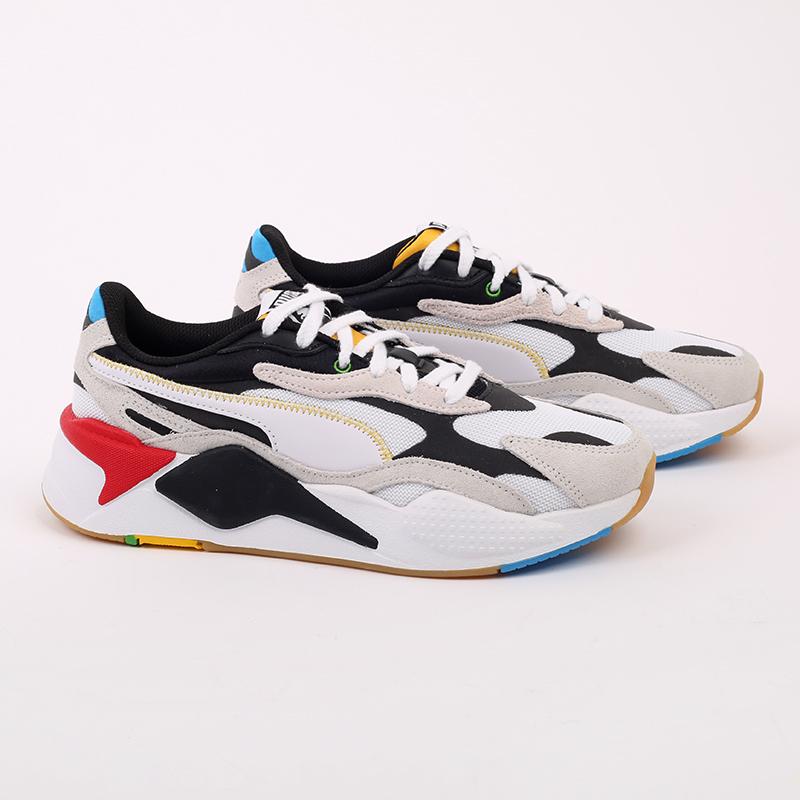 белые  кроссовки puma rs-x3 wh 37330801 - цена, описание, фото 2