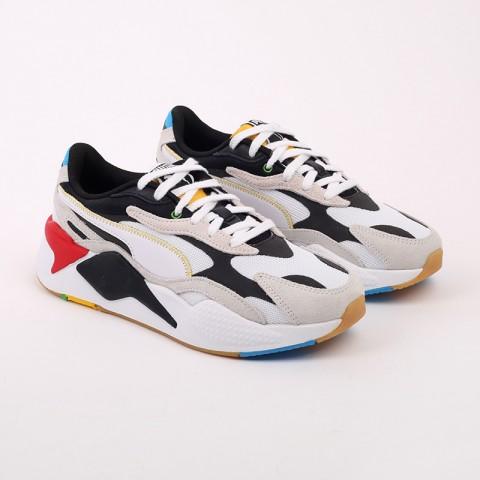 белые  кроссовки puma rs-x3 wh 37330801 - цена, описание, фото 3