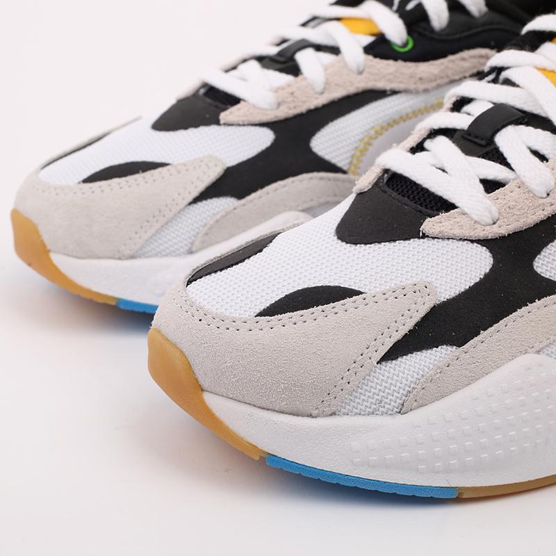 белые  кроссовки puma rs-x3 wh 37330801 - цена, описание, фото 7