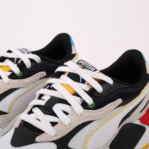 белые  кроссовки puma rs-x3 wh 37330801 - цена, описание, фото 8