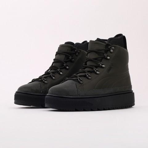 зелёные  кроссовки puma the ren boot 36336605 - цена, описание, фото 5