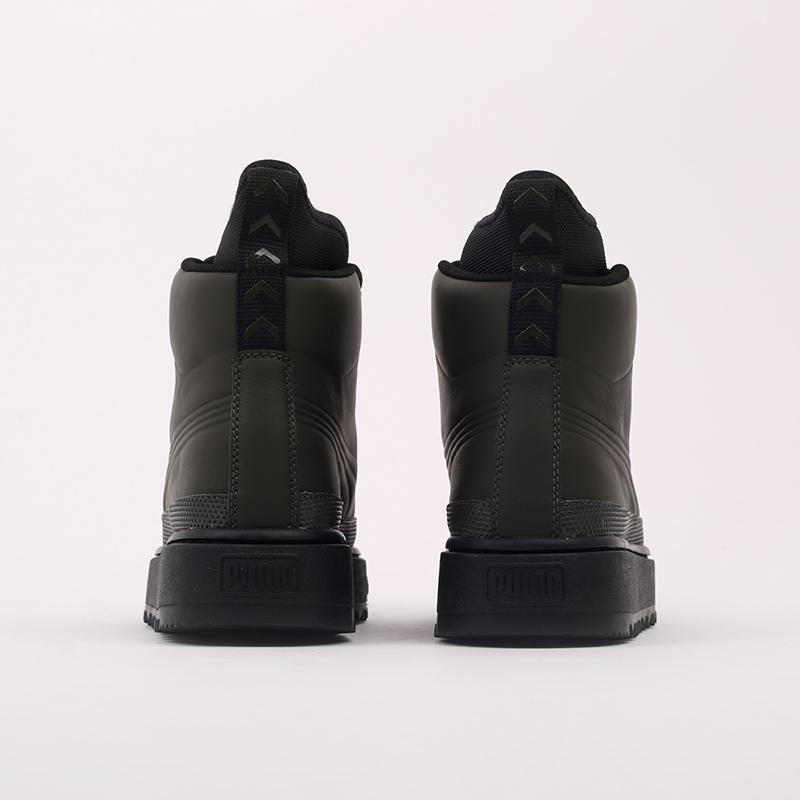 зелёные  кроссовки puma the ren boot 36336605 - цена, описание, фото 6