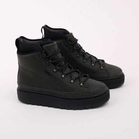 зелёные  кроссовки puma the ren boot 36336605 - цена, описание, фото 3