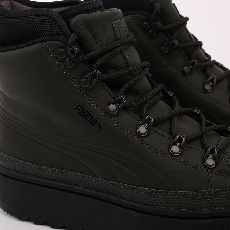 зелёные  кроссовки puma the ren boot 36336605 - цена, описание, фото 7