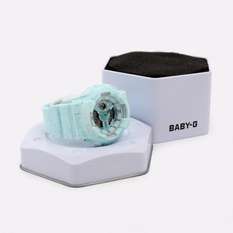 голубые  часы casio ba-110pi BA-110PI-2AER - цена, описание, фото 2