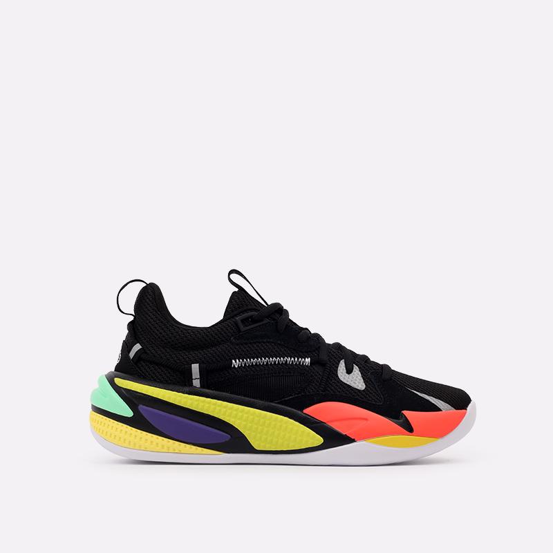 мужские чёрные  кроссовки puma rs-dreamer 19399003 - цена, описание, фото 1