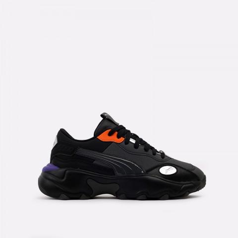 женские чёрные  кроссовки puma pulsar glow wn's 37304401 - цена, описание, фото 1