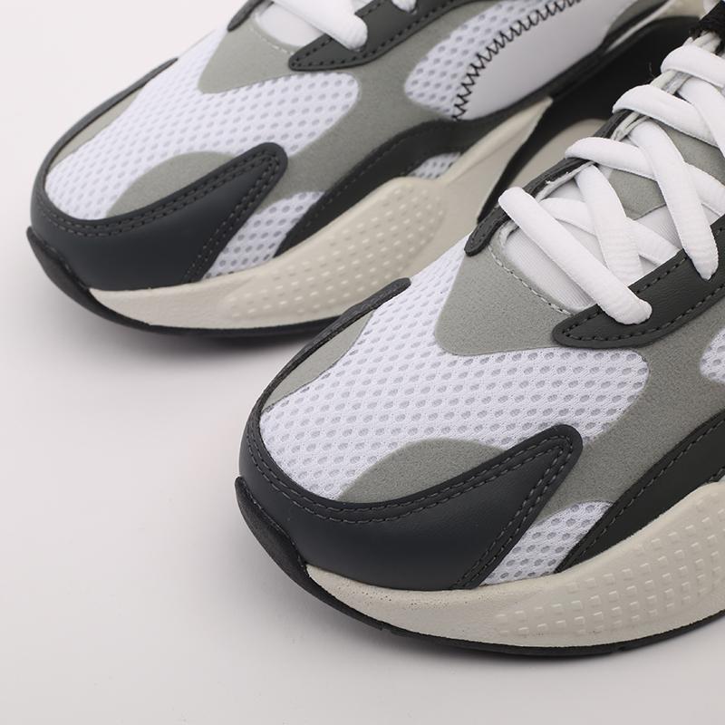 мужские белые  кроссовки puma rs-x3 millenium 37323607 - цена, описание, фото 6