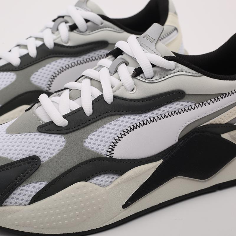 мужские белые  кроссовки puma rs-x3 millenium 37323607 - цена, описание, фото 7