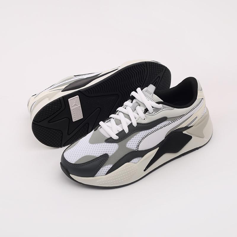 мужские белые  кроссовки puma rs-x3 millenium 37323607 - цена, описание, фото 4