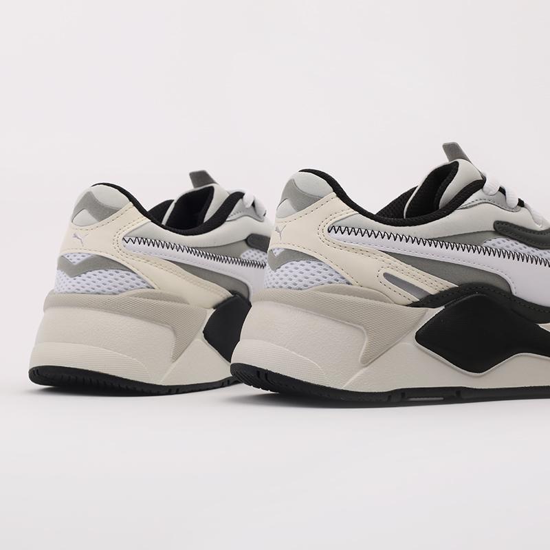 мужские белые  кроссовки puma rs-x3 millenium 37323607 - цена, описание, фото 5