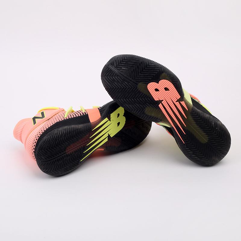 мужские чёрные, розовые, жёлтые  кроссовки new balance x kawhi leonard omn1s sunrise BBOMNXA2/D - цена, описание, фото 2