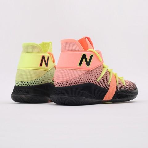 мужские чёрные, розовые, жёлтые  кроссовки new balance x kawhi leonard omn1s sunrise BBOMNXA2/D - цена, описание, фото 3