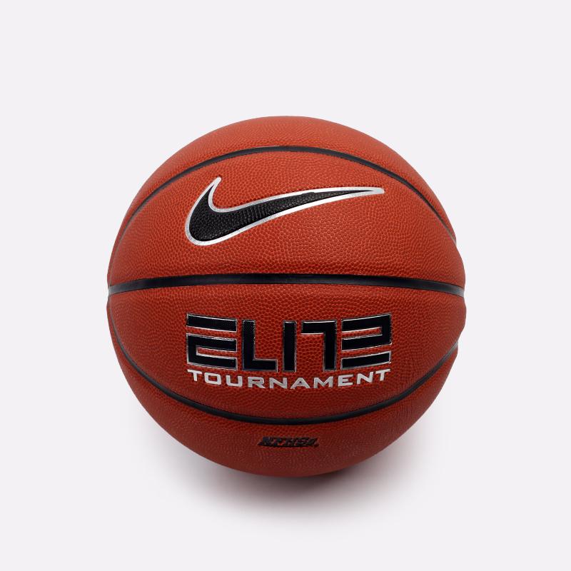 коричневый  мяч №7 nike elite tournament N1000114855* - цена, описание, фото 1