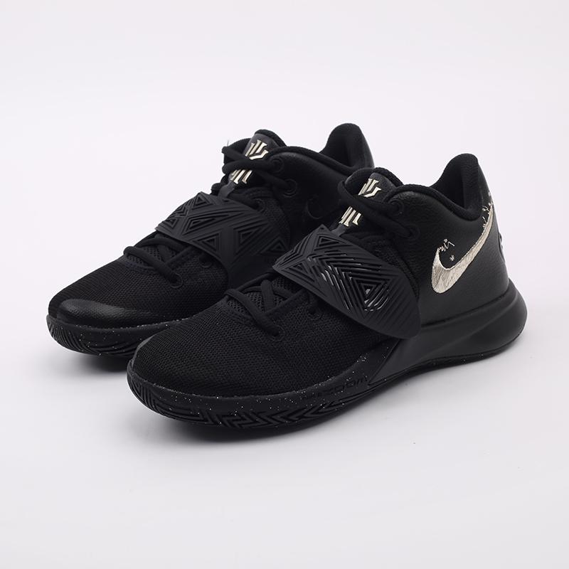 чёрные  кроссовки nike kyrie flytrap iii BQ3060-008 - цена, описание, фото 4