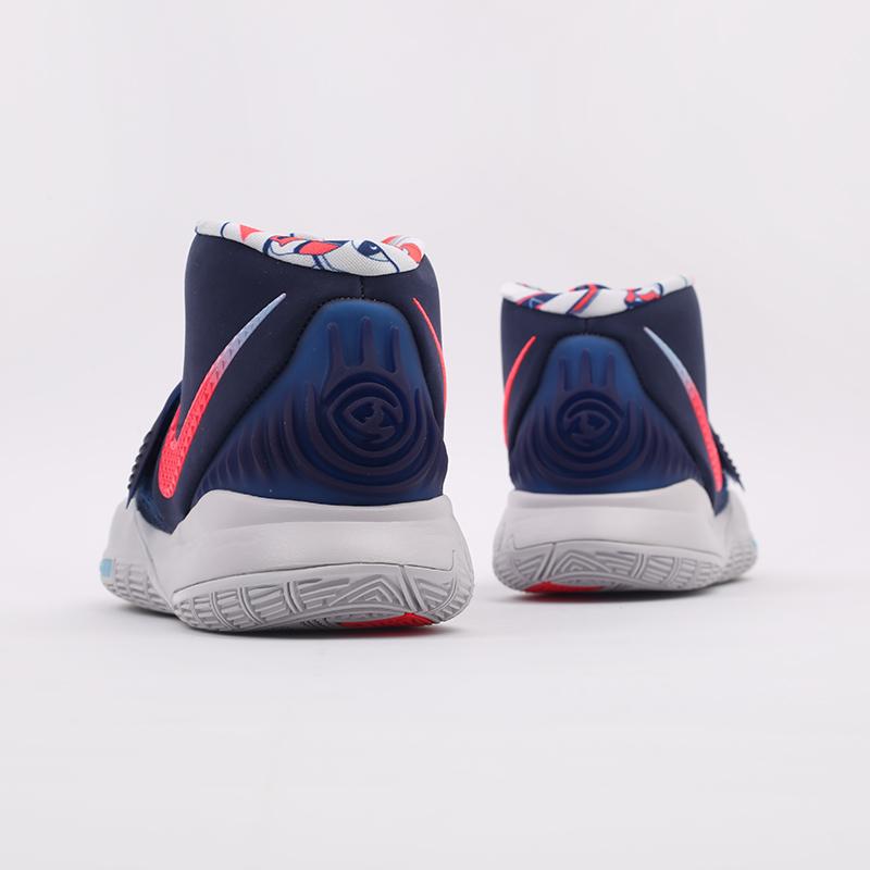 синие  кроссовки nike kyrie 6 BQ4630-402 - цена, описание, фото 3