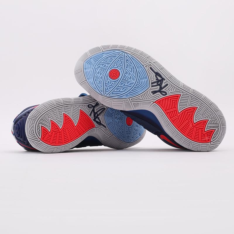 синие  кроссовки nike kyrie 6 BQ4630-402 - цена, описание, фото 4