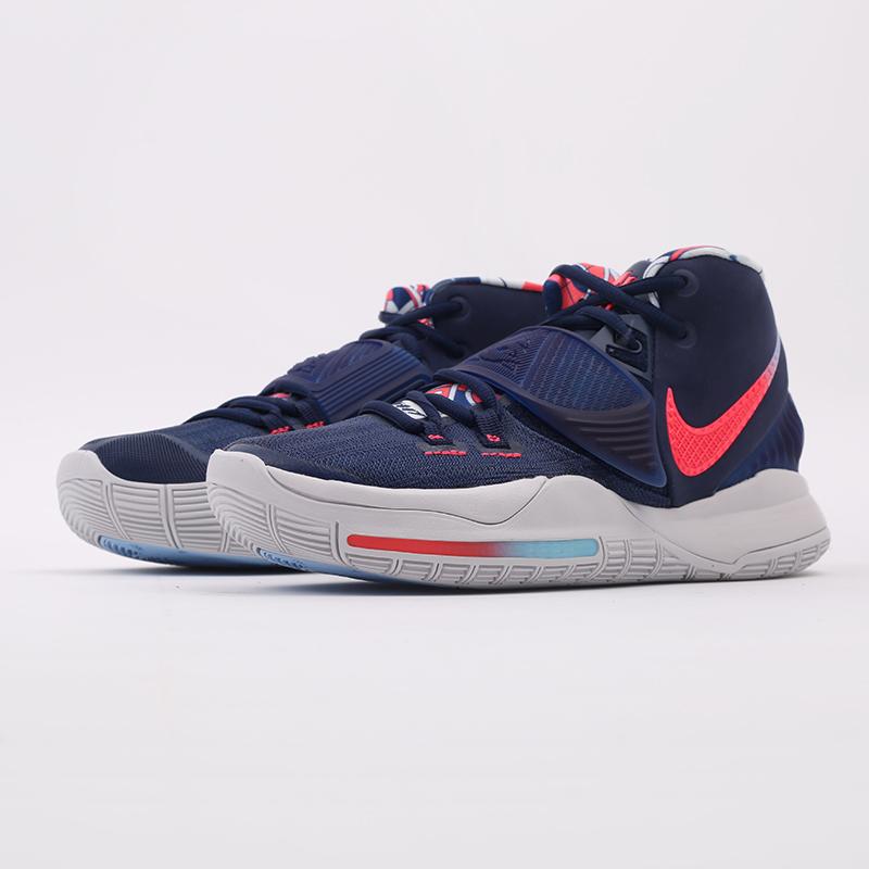 синие  кроссовки nike kyrie 6 BQ4630-402 - цена, описание, фото 5