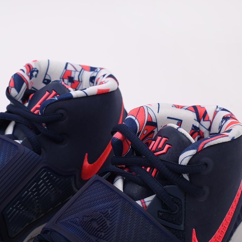 синие  кроссовки nike kyrie 6 BQ4630-402 - цена, описание, фото 8