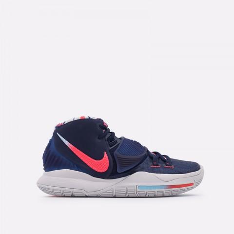 синие  кроссовки nike kyrie 6 BQ4630-402 - цена, описание, фото 1