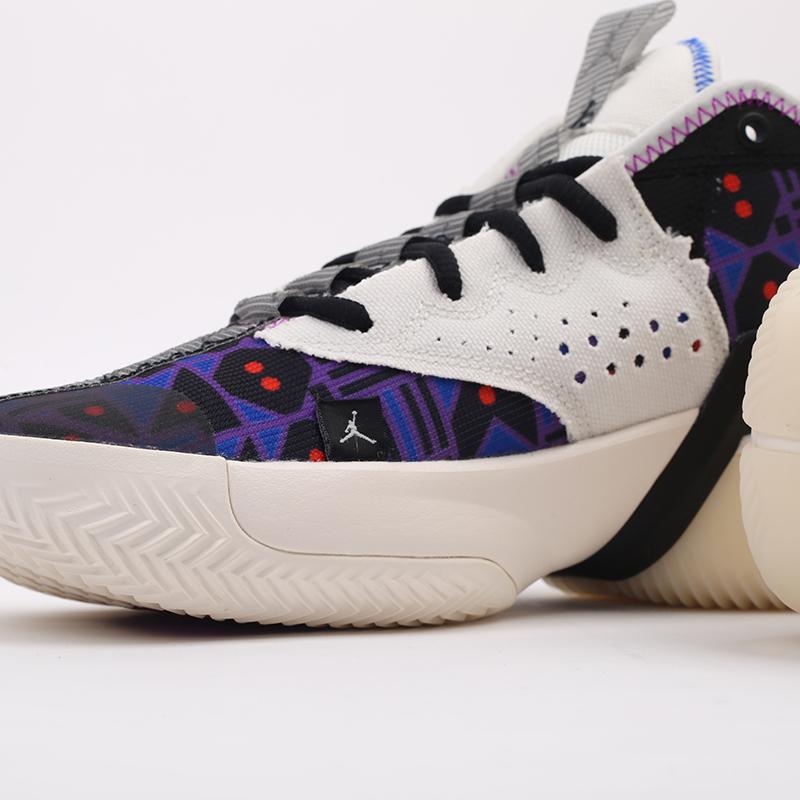 мужские разноцветные  кроссовки jordan react elevation q54 CZ4156-100 - цена, описание, фото 5