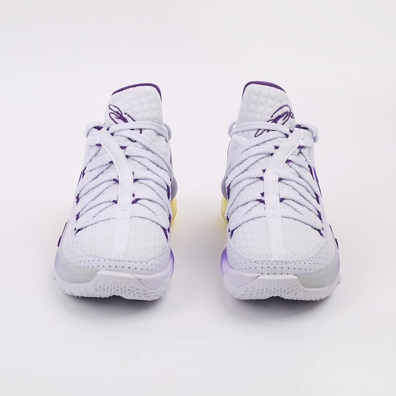 белые  кроссовки nike lebron xvii low CD5007-102 - цена, описание, фото 5
