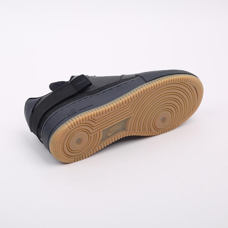 мужские чёрные  кроссовки nike air force 1 type 1 CJ1281-001 - цена, описание, фото 2