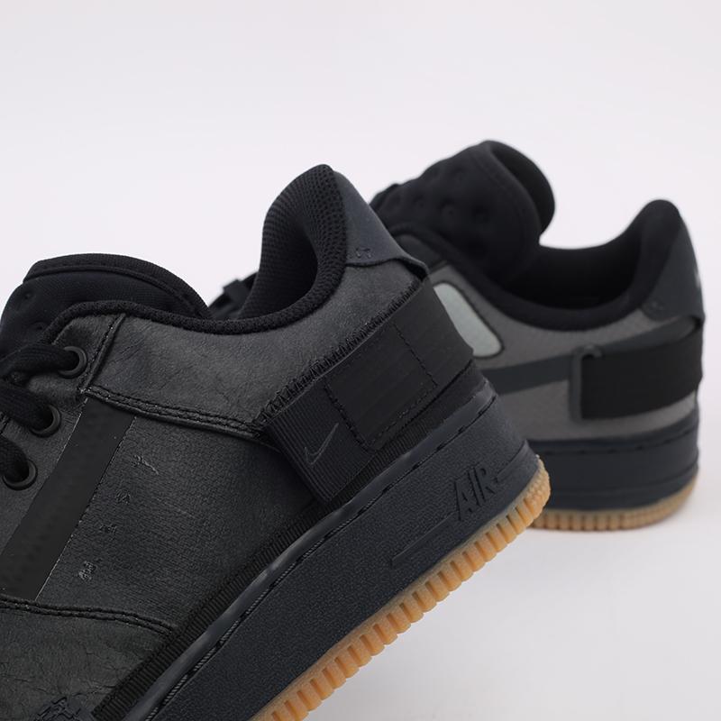 мужские чёрные  кроссовки nike air force 1 type 1 CJ1281-001 - цена, описание, фото 7