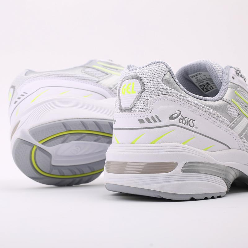 мужские белые  кроссовки asics gel-1090 1201A041-100 - цена, описание, фото 3