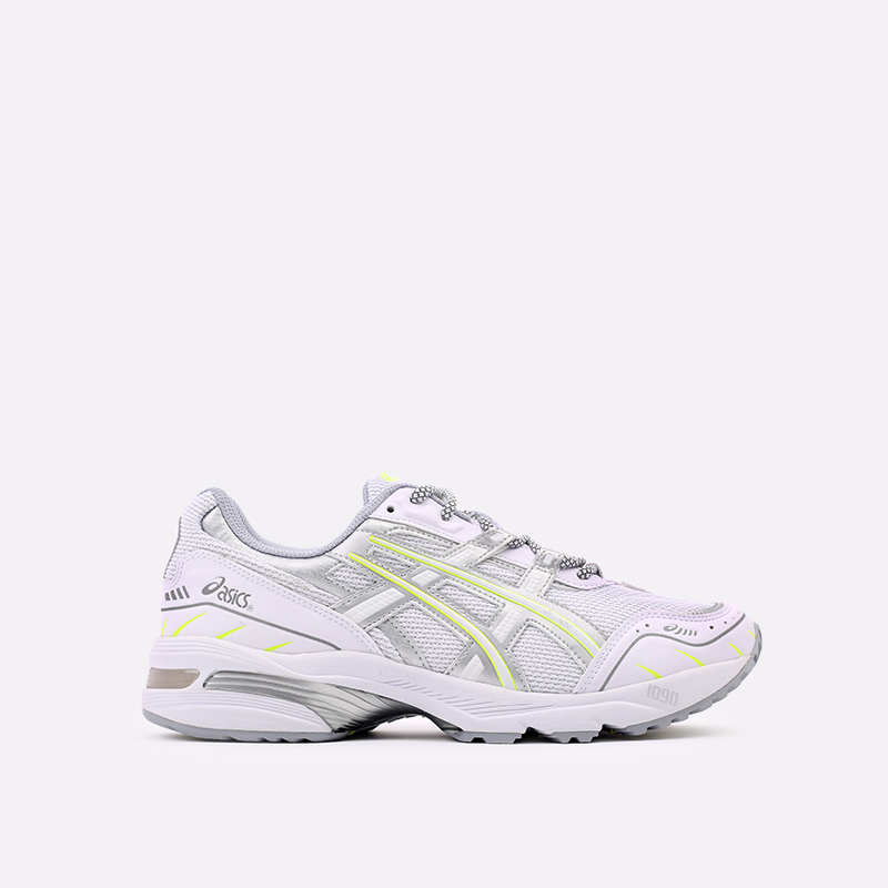 мужские белые  кроссовки asics gel-1090 1201A041-100 - цена, описание, фото 1