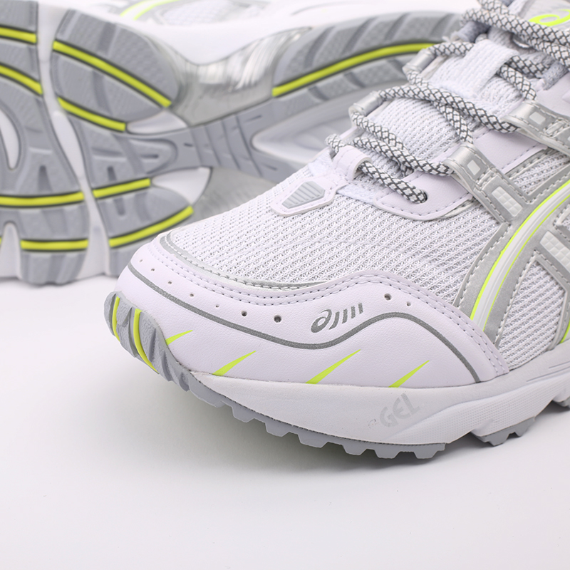 мужские белые  кроссовки asics gel-1090 1201A041-100 - цена, описание, фото 7