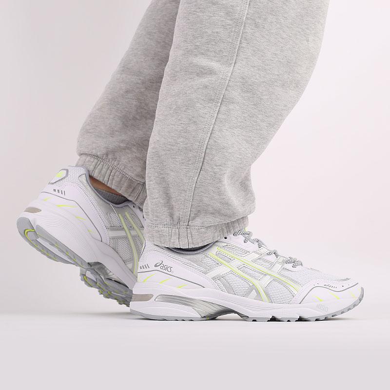 мужские белые  кроссовки asics gel-1090 1201A041-100 - цена, описание, фото 9