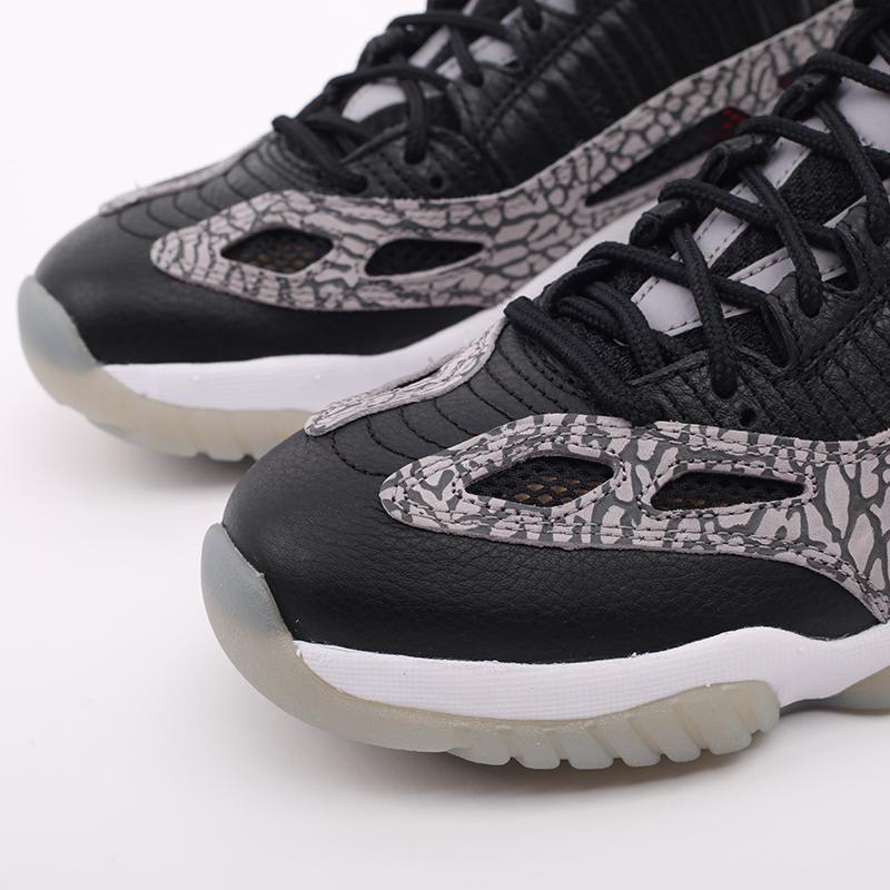 мужские чёрные  кроссовки jordan 11 retro low ie 919712-006 - цена, описание, фото 7