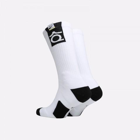 мужские белые  носки nike kd elite crew SK0083-100 - цена, описание, фото 2