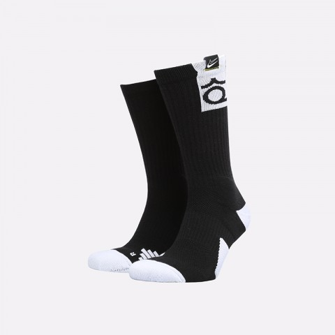 чёрные  носки nike kd elite crew SK0083-010 - цена, описание, фото 1