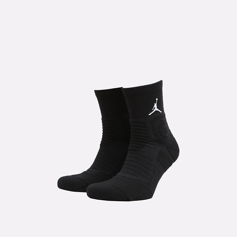 мужские чёрные  носки jordan flight ankle SX5855-011 - цена, описание, фото 1