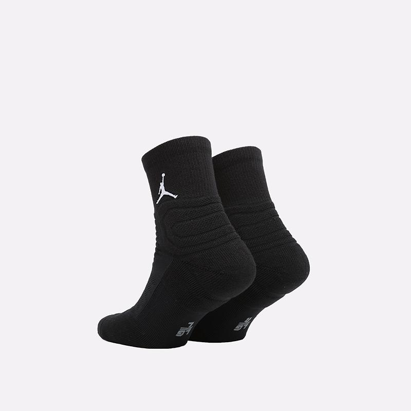 мужские чёрные  носки jordan flight ankle SX5855-011 - цена, описание, фото 2