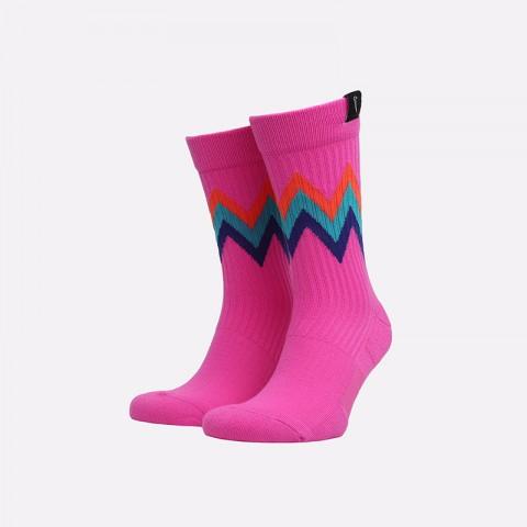 мужские малиновые  носки nike sneakr sox CT3134-624 - цена, описание, фото 1