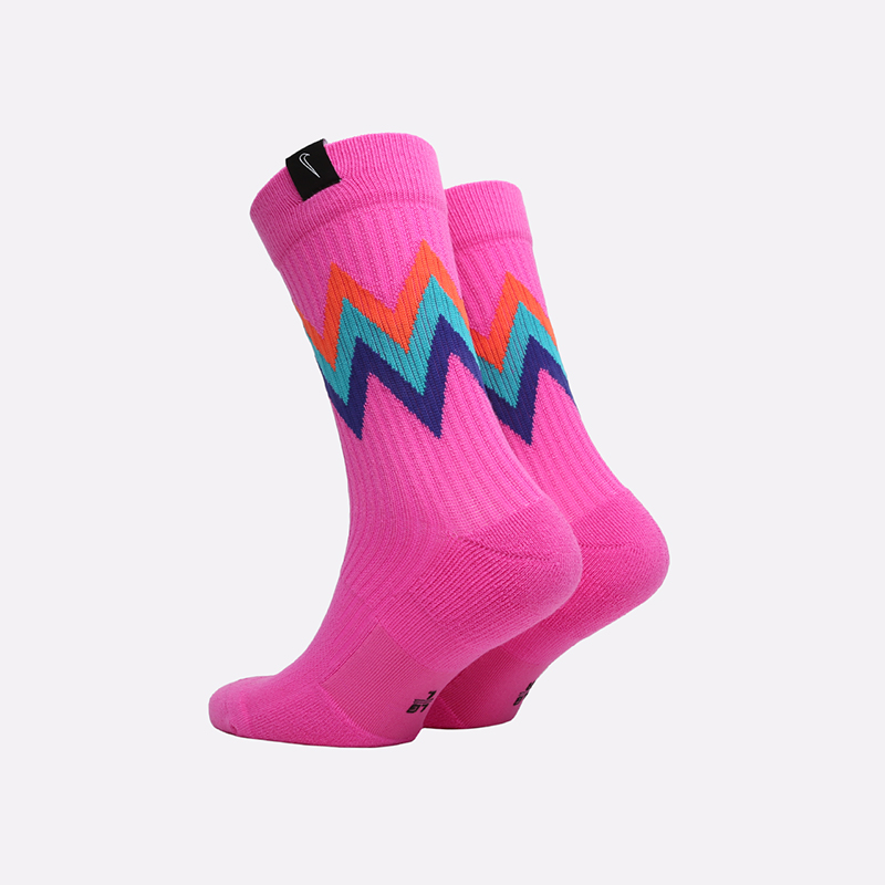 мужские малиновые  носки nike sneakr sox CT3134-624 - цена, описание, фото 2