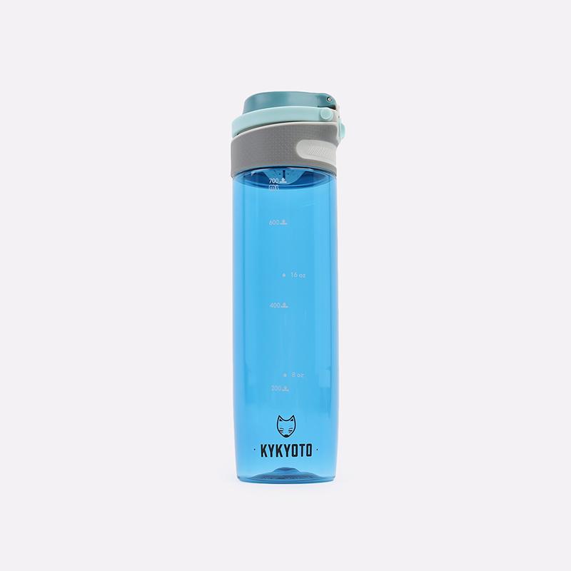 синюю  бутылка kykyoto sport fliptop Sport-750ml - цена, описание, фото 1