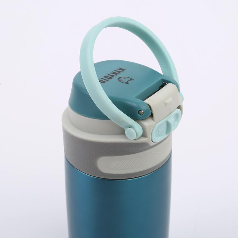 синий  термос kykyoto thermal fliptop Thermal 350ml - цена, описание, фото 2