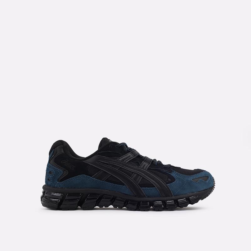 мужские чёрные  кроссовки asics gel-kayano 5 360 1021A160-002 - цена, описание, фото 1