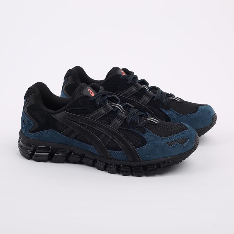 мужские чёрные  кроссовки asics gel-kayano 5 360 1021A160-002 - цена, описание, фото 2