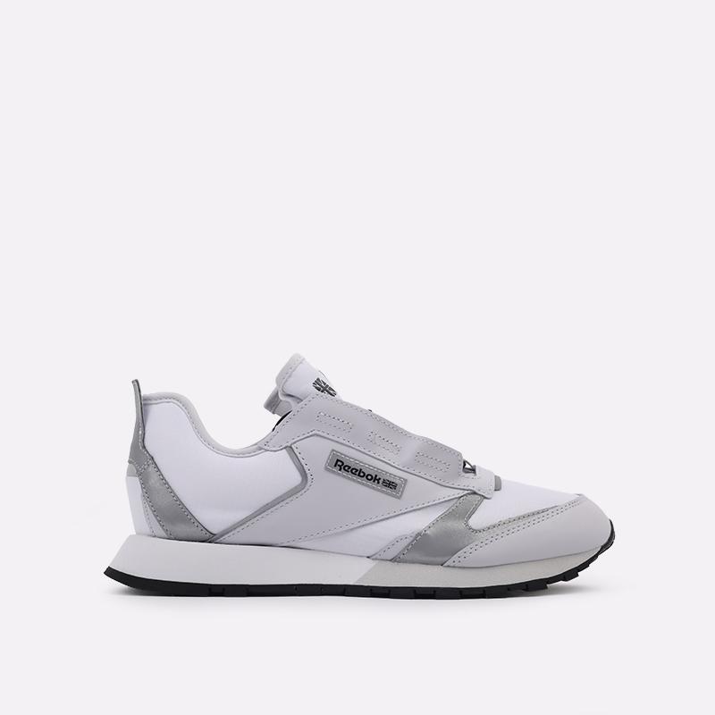 белые  кроссовки reebok cl lthr premier FV9287 - цена, описание, фото 1