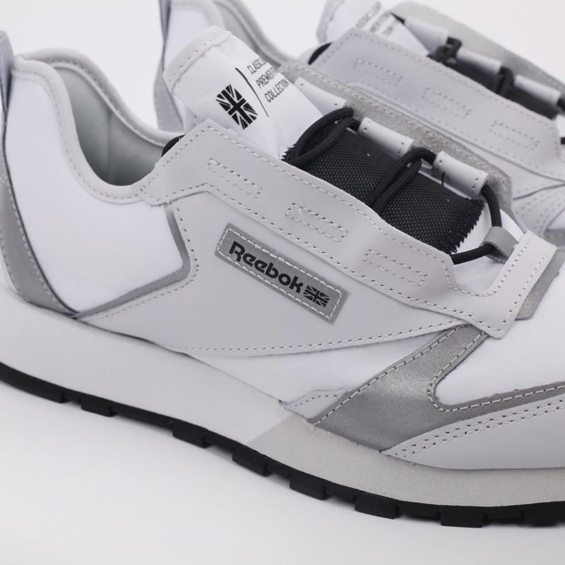 белые  кроссовки reebok cl lthr premier FV9287 - цена, описание, фото 4