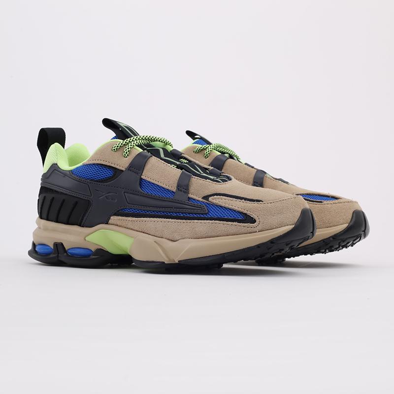 бежевые  кроссовки reebok dmx6 mmxx FW6649 - цена, описание, фото 2