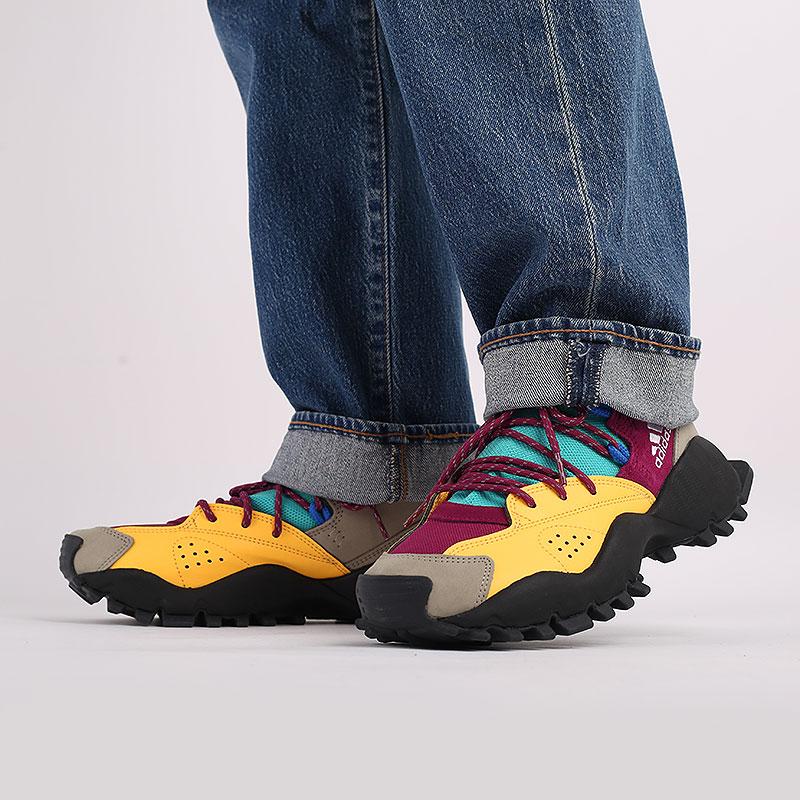 мужские разноцветные  кроссовки adidas seeulater og FW9174 - цена, описание, фото 8