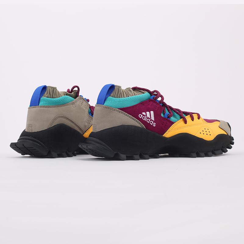 мужские разноцветные  кроссовки adidas seeulater og FW9174 - цена, описание, фото 3