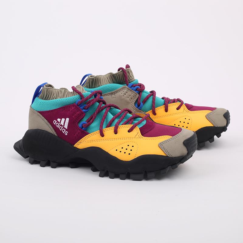 мужские разноцветные  кроссовки adidas seeulater og FW9174 - цена, описание, фото 4