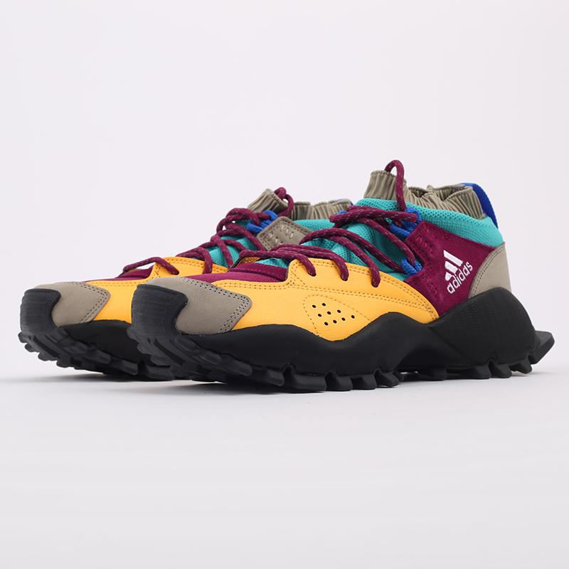 мужские разноцветные  кроссовки adidas seeulater og FW9174 - цена, описание, фото 5